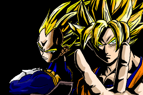 Dbz android 18 and cell - 4 3