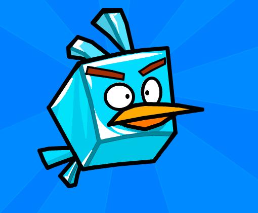 Como Desenhar O Pássaro Vermelho De Angry Birds: Desenho De Caique_lima