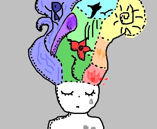 Mil E Um Pensamentos Desenho De Camilamqtm Gartic