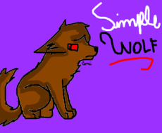 SIMPLE WOLF