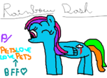 Rainbow Dash p/ PetsLoveLovePets