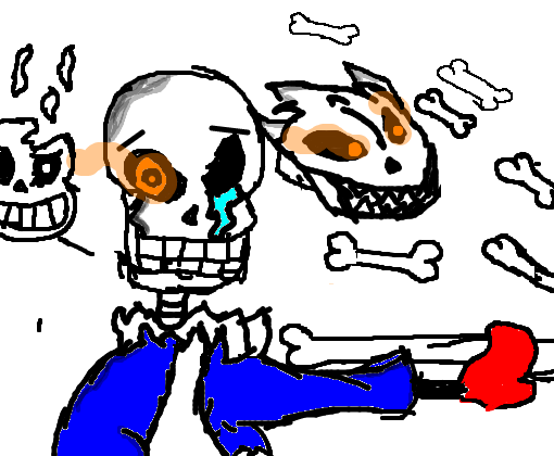 Disbelief papyrus - Desenho de cat_boy_neko - Gartic