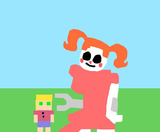 Minigame Da Baby Sl Desenho De Chica Human001 Gartic