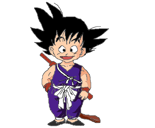 Goku Pequeno Desenho De Christianffc Gartic