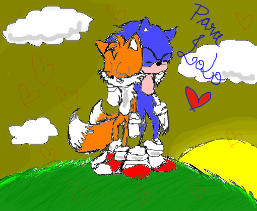 tails e sonic p/ lolo_xd