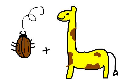 Besouro Girafa Desenho De Cindycat Gartic