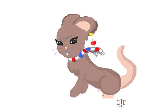 ratinha desenho de cjogandocromimi gartic