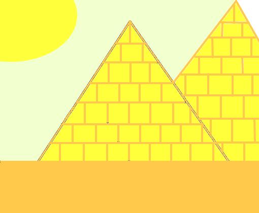 Piramides Egipcias Desenho De Clara Pp Gartic
