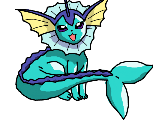 Vaporeon p/ _Sylveon_Kawaii_