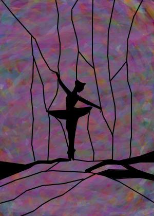 Danca Sombria Desenho De Costelaroxa Gartic
