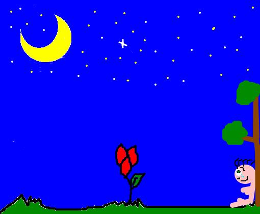 Noite Desenho De Costelaroxa Gartic