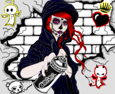 Hot Catrina Girl