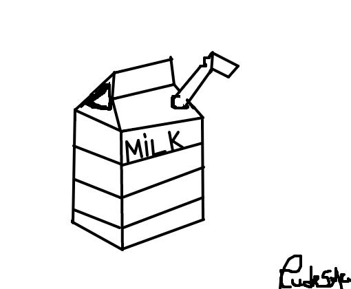 Caixa De Leite Desenho De Cudeso Ja Gartic