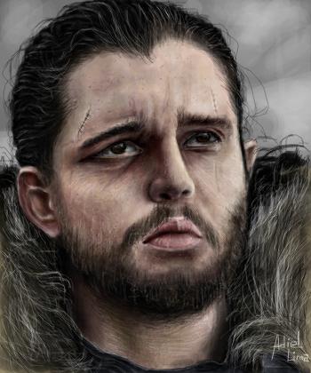 Jon Snow Desenho De D S Gartic