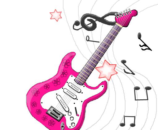 Guitarra Desenho De Damahh Gartic
