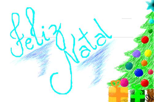 Feliz Natal Desenho De Danieloli Gartic