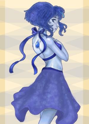 Lapis Lazuli - Desenho de deadmisaki - Gartic