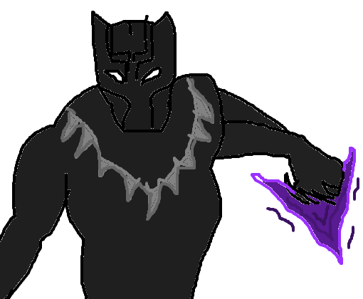 pantera negra desenho de deadpool 3684 gartic