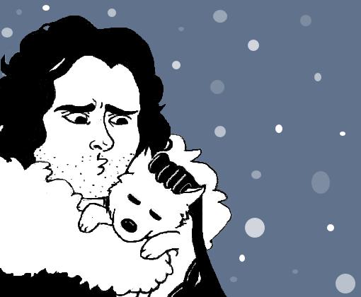 Jon Snow Desenho De Deanwinchester Gartic