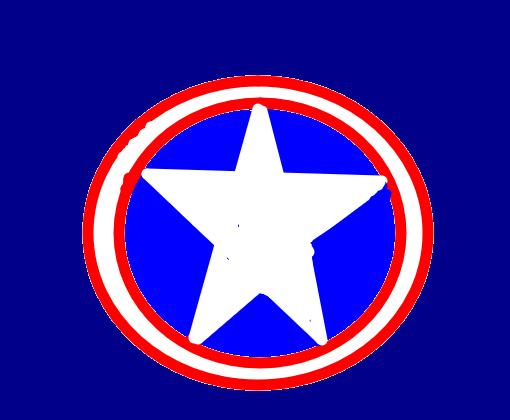 Escudo Do Capitao America Desenho De Debiinha20 Gartic