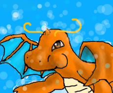 o mergulho do dragonite