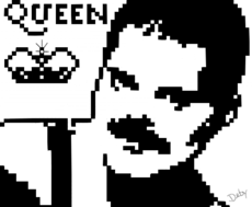 QUEEN / FRED MERCURY