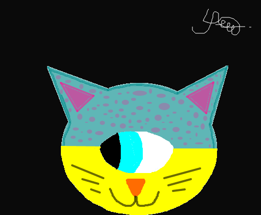 felino desenho de deyyyse gartic