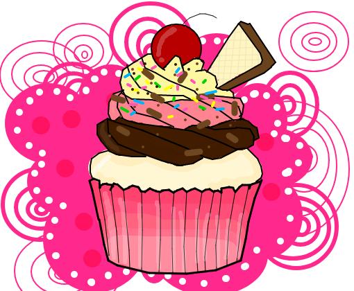 Cup Cake Chicilat Fondant A L Interieru