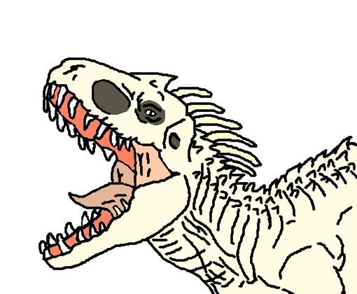 indominus rex desenho de dinozoatv21 gartic
