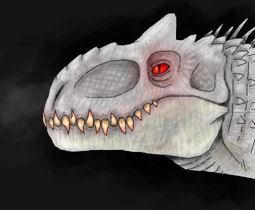 indominus rex desenho de dodorex gartic