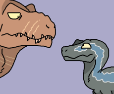 Rexy and Blue