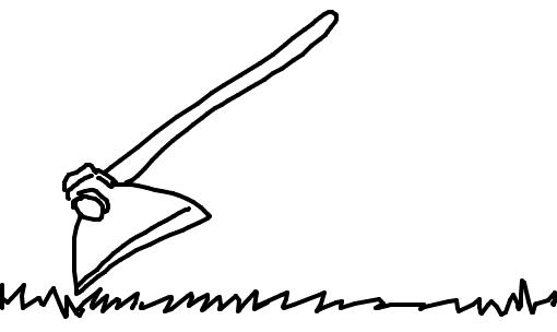 Enxada Desenho De Douglasrafael Gartic