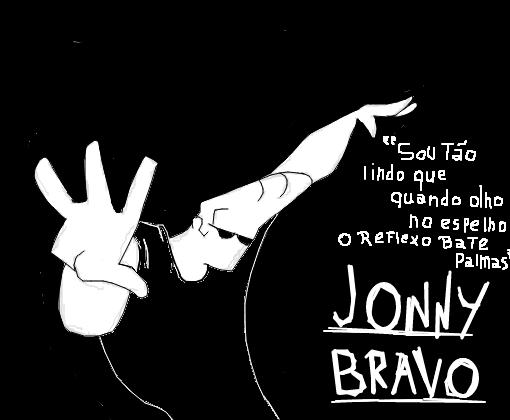 Johnny Bravo E Suas Frases Desenho De Dragonforce X Gartic