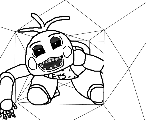 mangle and foxy coloring pages