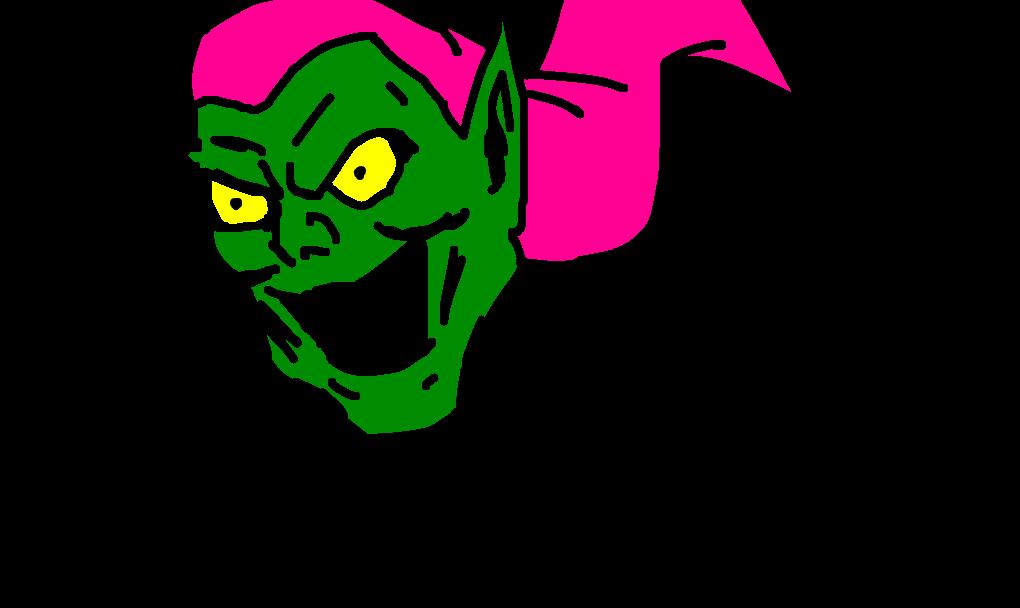 duende verde desenho de dreegun gartic