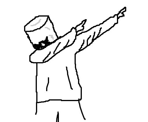 Como Desenhar O Marshmello Dj Mmod