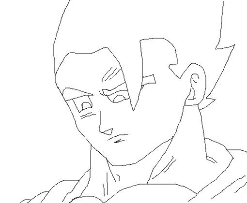 Dibujos Para Colorear De Dragon Ball Z Gohan Ssj2 Ideas: Mystic Gohan Desenho
