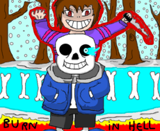 Sans and Frisk - Undertale
