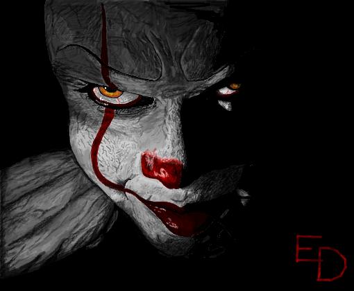 Frase Do Palhaco Do Mal: Desenho De Erickdraw
