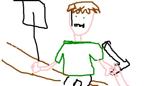 Buceta em desenho