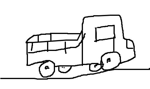 Resultado de imagem para caminhonete desenho