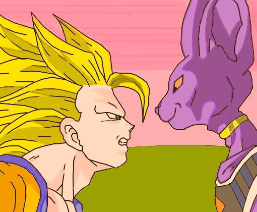 Goku Vs Bills Desenho De Fabricio Sayajin Gartic