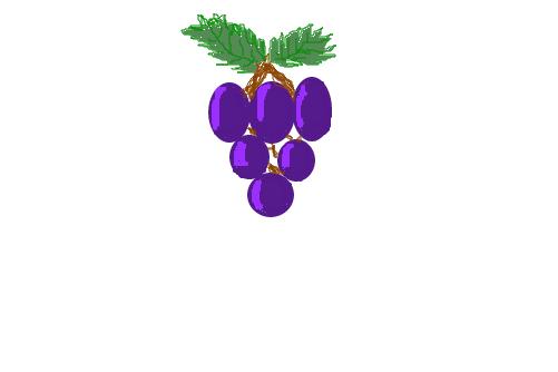 cacho de uva desenho de fefehzinha gartic