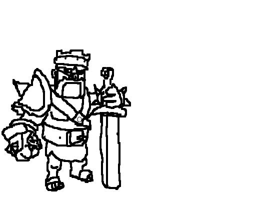 rei bárbaro desenho de fenix 09 gartic