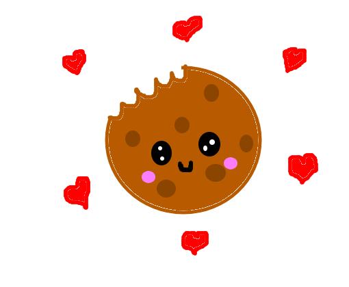 Cookie Mordido Desenho De Fofinha001 Gartic