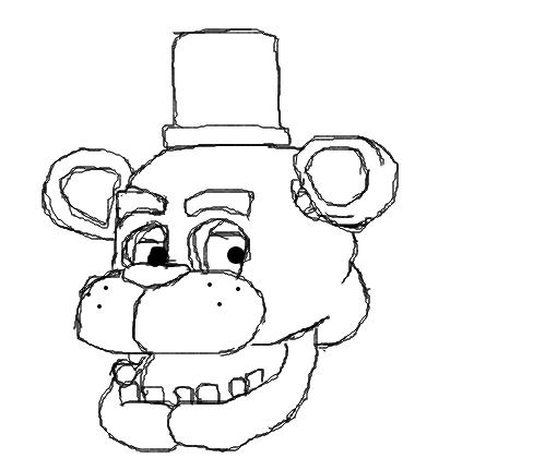 freddy fazbear desenho de foxy boy331 gartic