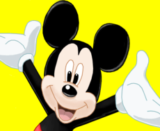 Mickey Mouse p/ pok_ana_so