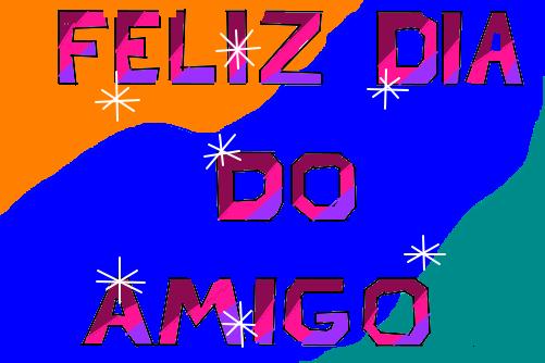 Feliz Dia Do Amigo Desenho De Fred Sccp Gartic