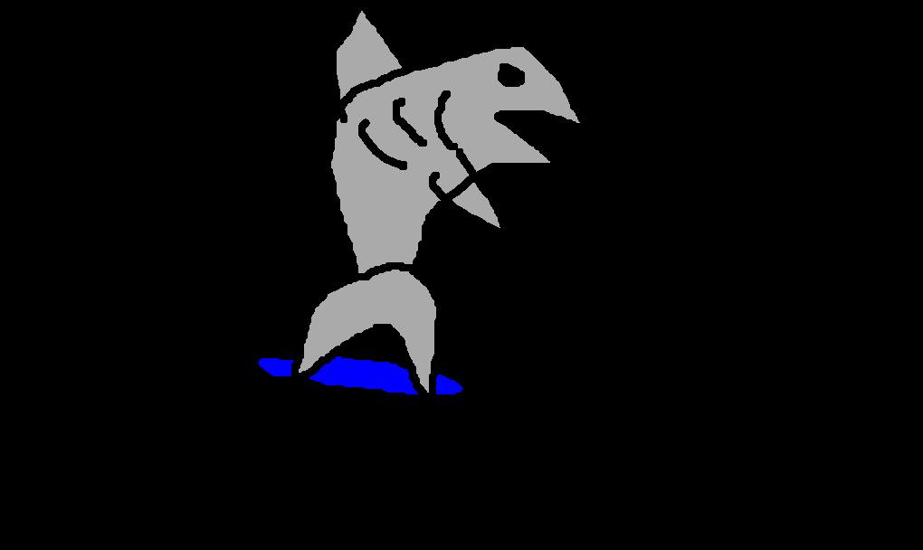 tubarão skatista desenho de ftribeiro gartic