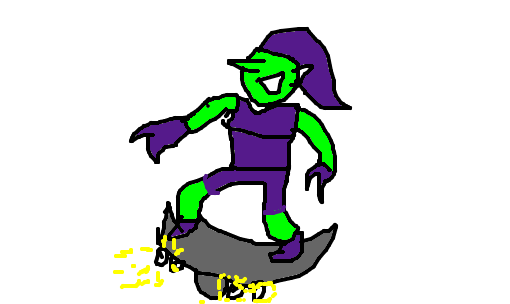 duende verde desenho de g0m3m gartic